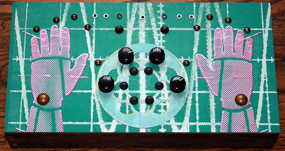 Noise Synth created for Meng Qi Music - ambitstudio - handmade synthesizer